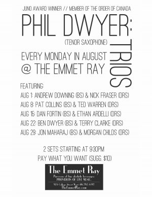 Phil Dwyer - Emmet Ray